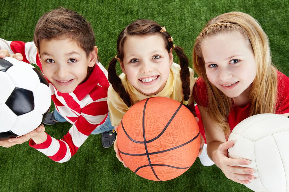 Deportes, niños, adultos, todas las edades